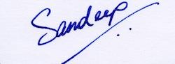 Sandeep_Signature