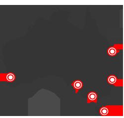 blank map of australia new